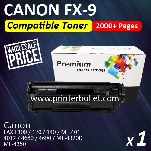 Canon FX-9 / Canon Cartridge FX9 High Quality Compatible Black Toner Cartridge