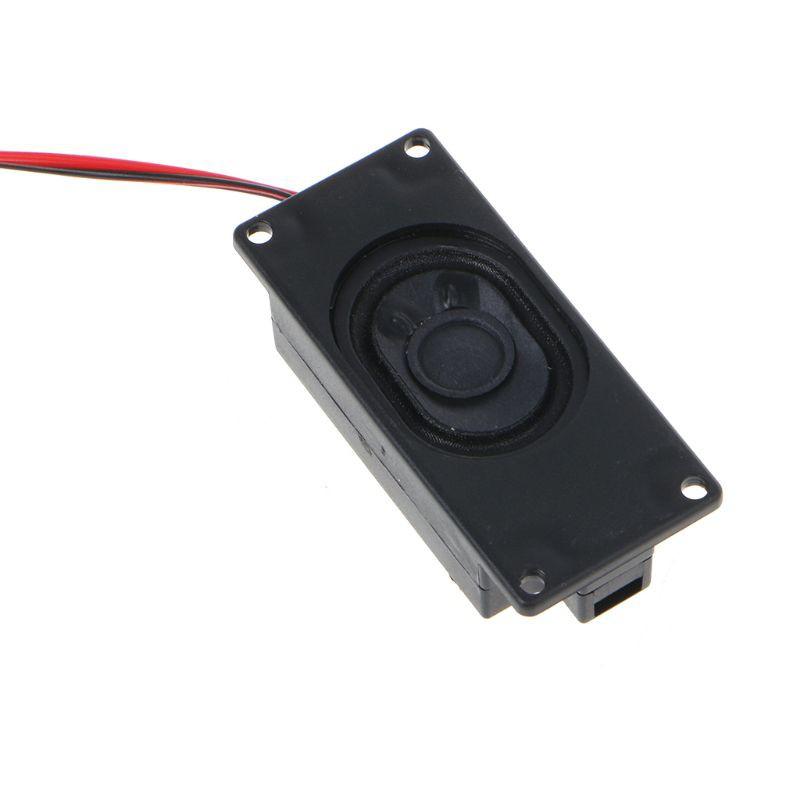 2Pcs 3070 Advertising LCD TV Speakers Loudspeaker 4 Ohm 3W Rectangle  Speaker New
