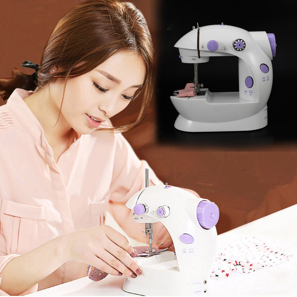 HST Tailor Small Household Electric Mini Multifunction Portable Sewing Machine