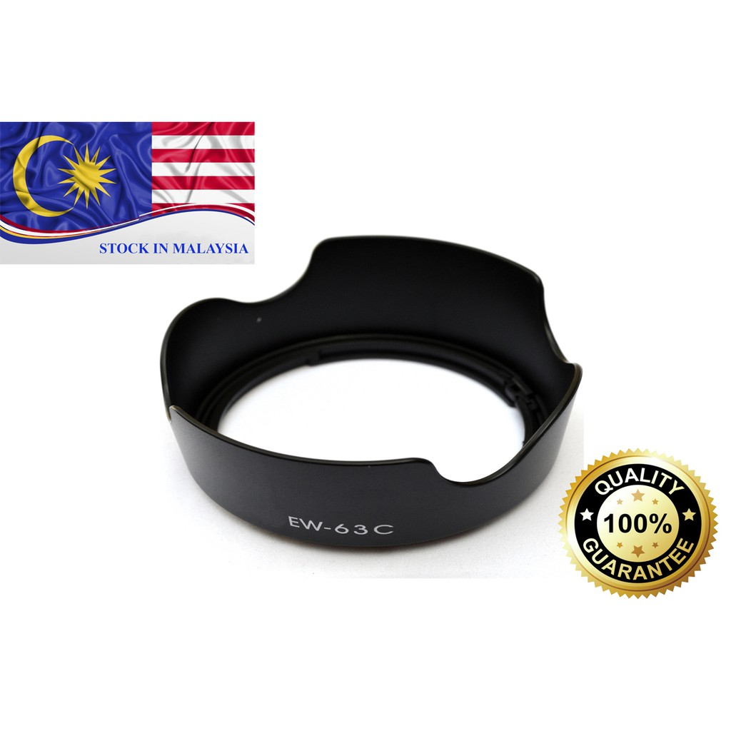 EW-63C Flower Lens Hood For Canon EF-S 18-55mm f/3.5-5.6 IS STM Lens (Ready Stock In Malaysia)