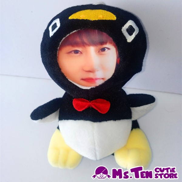 Creative Special Gifts Customized DIY 3D Face Toys Penguin