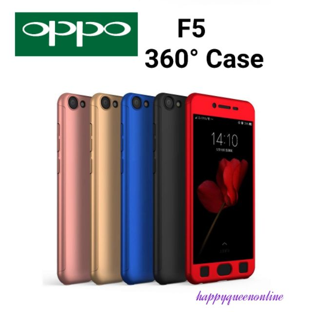 info for 58ae1 575a8 OPPO F5 / F5 YOUTH【360° Full Cover Protect】 with Screen Protector Casing