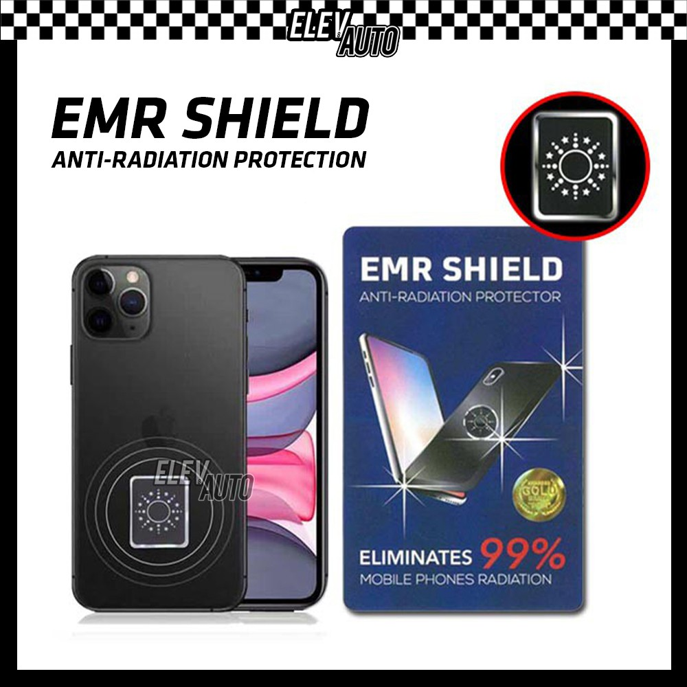 EMR Shield Anti Radiation Protector Scalar Energy Sticker Radiation Eliminator For Mobile Phone/Tablet /Desktop/Laptop