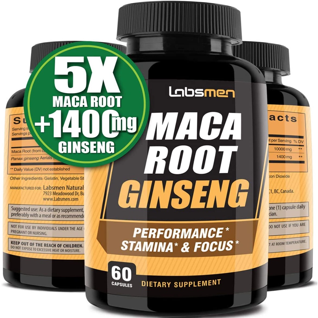 Which is better maca or ginseng