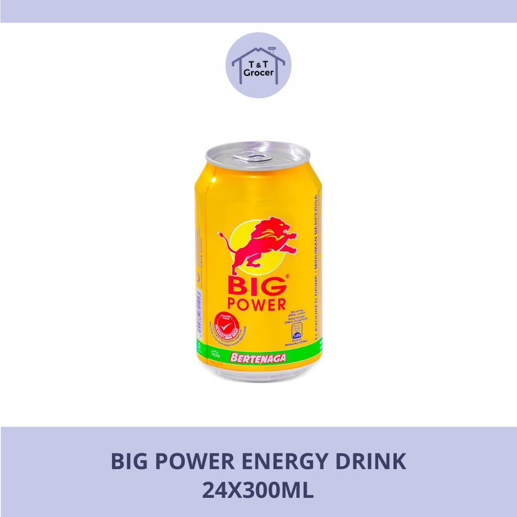 Big Power Energy Drink 24 x 300ml
