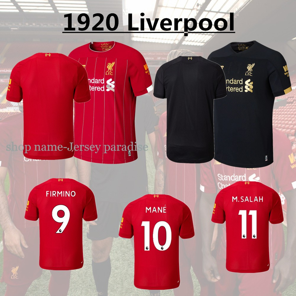 31661593ec3 Thai quality NEW 19 20 Liverpool SALAH Soccer Jerseys | Shopee Malaysia
