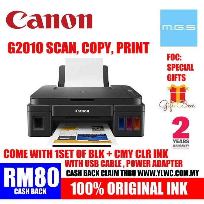 CANON PIXMA G2010 REFILL INK TANK WITH ORIGINAL CANON REFILL INK ( T300  T310 T510W L120 L220 L360 L3110 G2000 G3000 )