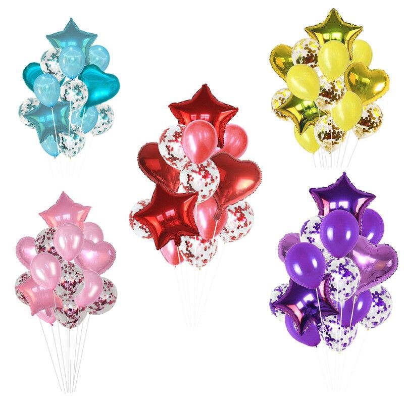 "5× Clear Latex Balloon Helium Wedding Birthday Party Decor Supplies 12//18//24//36/"""