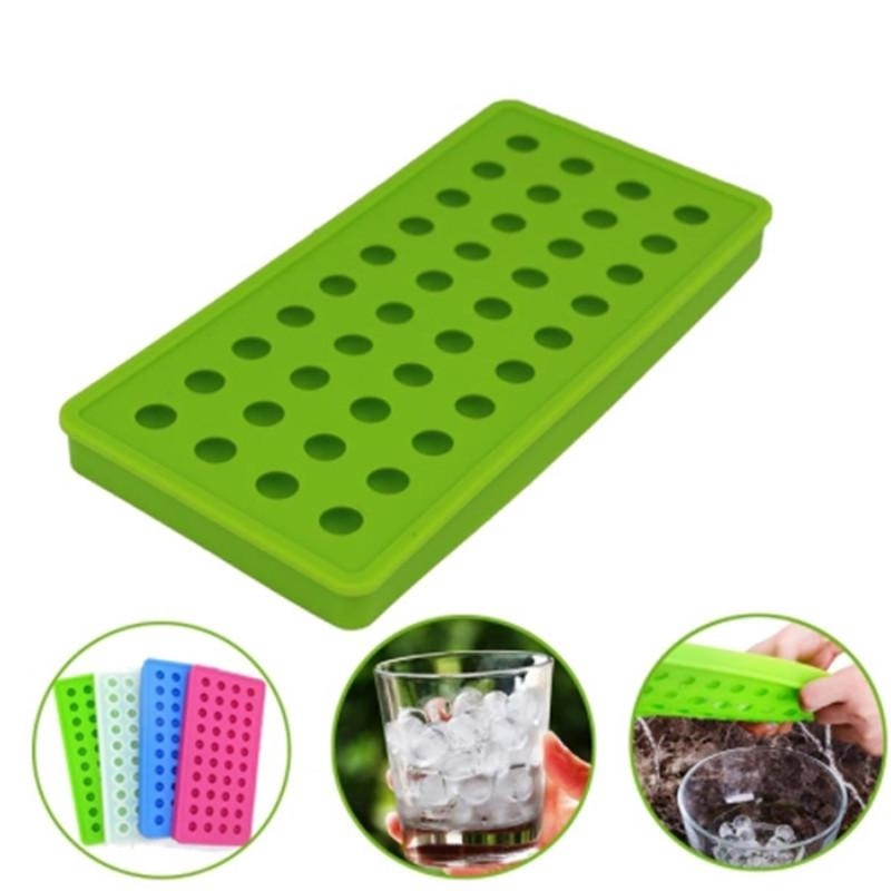 Silicone//Rubber Ice Cube Tray Ball Cube Mold Bar Ice Cube Chocolate Mould Tray