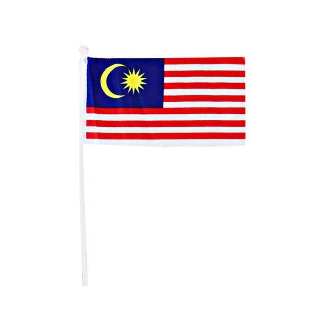 Malaysia Flag Handheld Bendera Tangan Malaysia Hand Flag