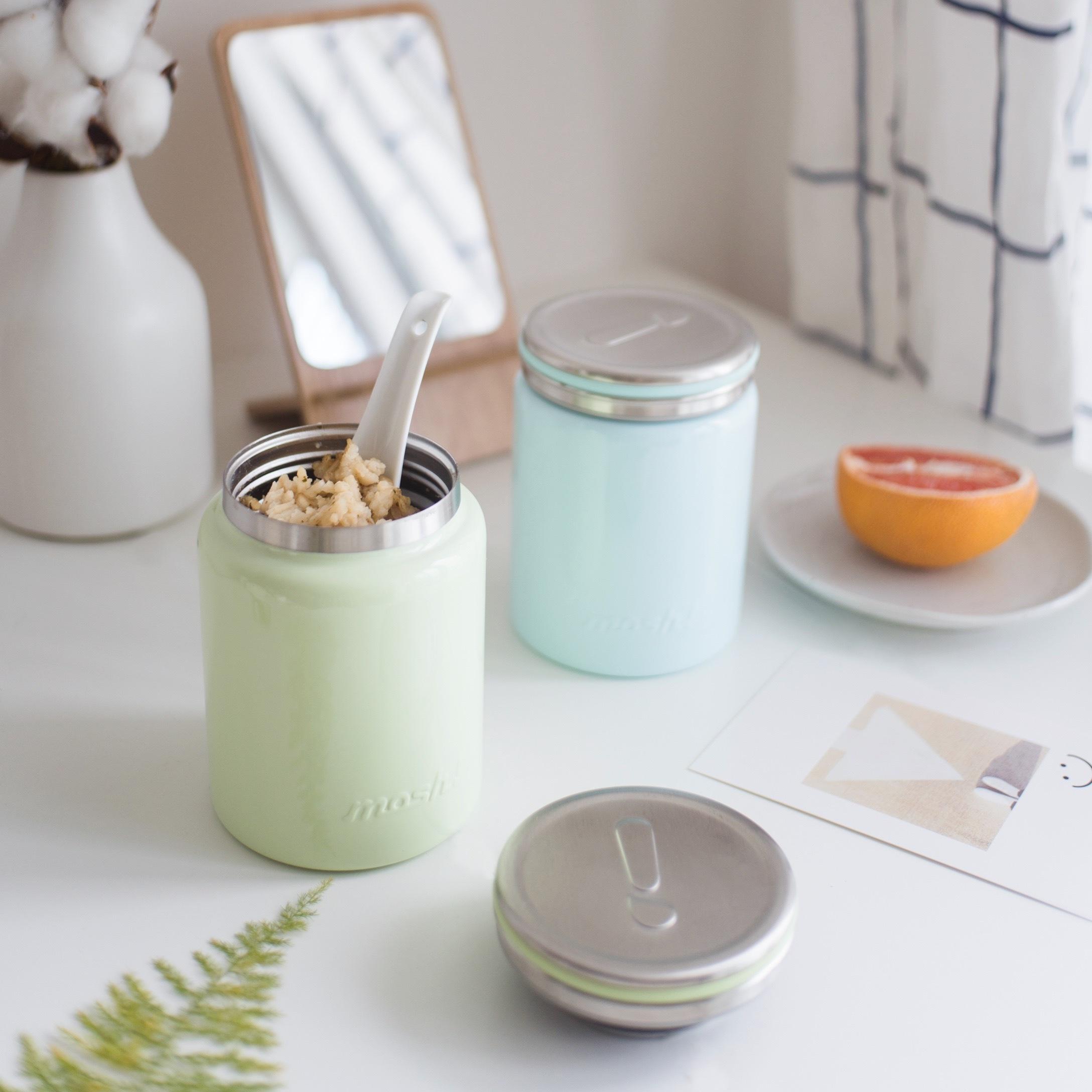 MOSH ! Stainless Steel Food Pot 420ML | Shopee Malaysia