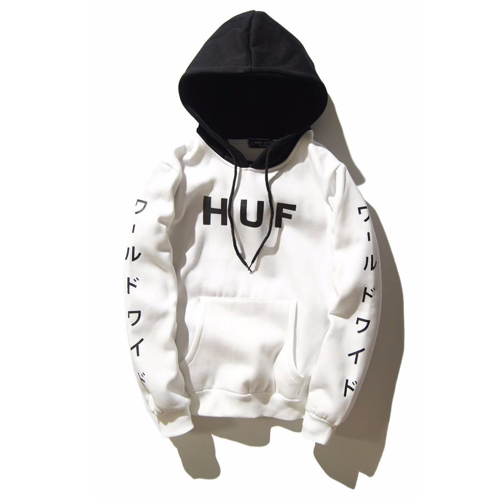 Pack Hoodie White Huf World Pullover Menwomen b7Y6gyf