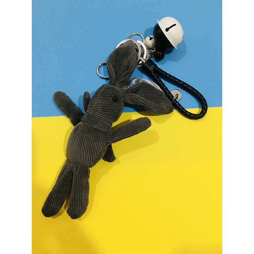 Hand Made Peter Rabbit Keychain, Bunny Keychain