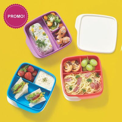 Tupperware Lollitup 550ml Lunch Box Lolly Tup Lollytup