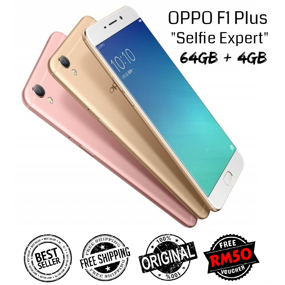 🇲🇾 Ori Oppo F1 Plus @ R9 [64GB + 4GB RAM] Amoled LCD Full Set [1 Month Warranty] FREE Screen Protector