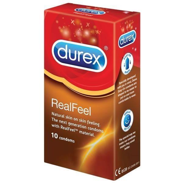 Durex Realfeel Condoms 10S Non-Latex Condom