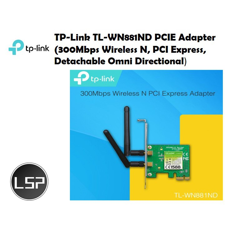 TP-Link TL-WN881ND PCIE Adapter