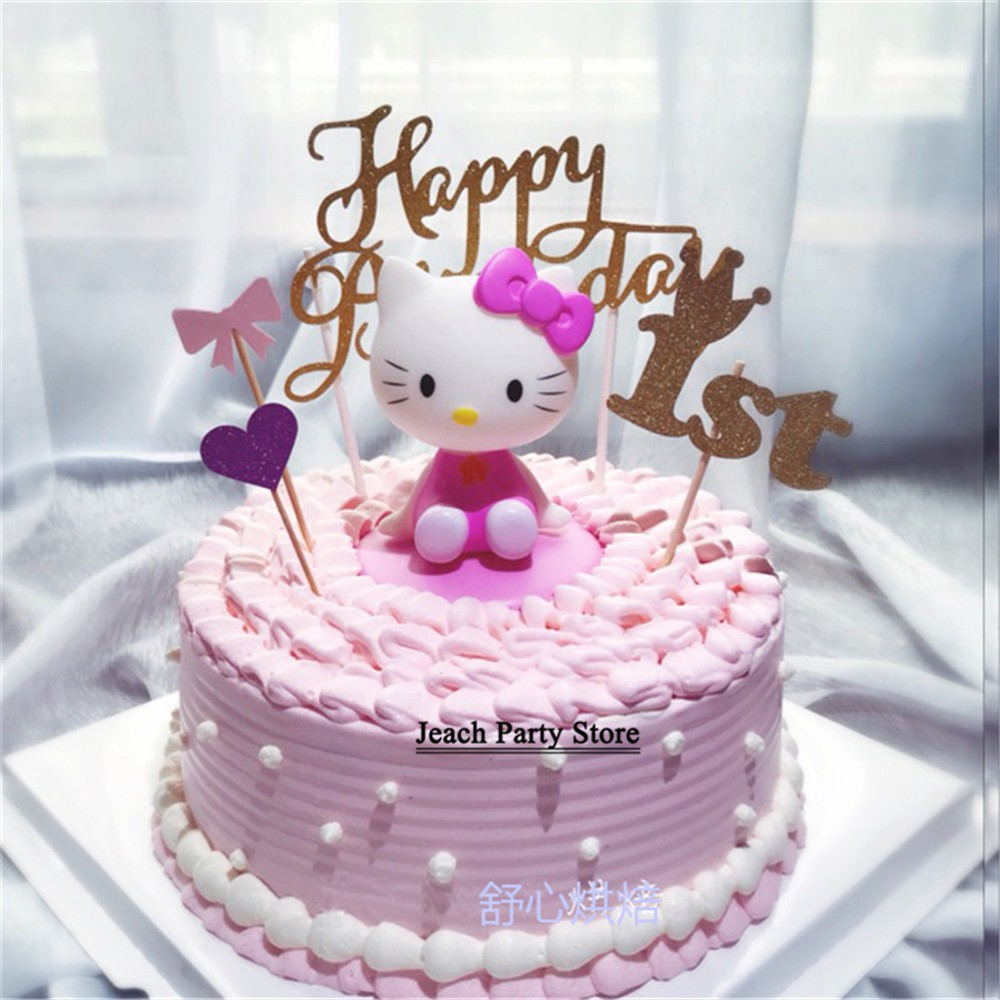 Miraculous Girls Toys Hello Kitty Birthday Cake Topper Birthday Favors Fun Personalised Birthday Cards Cominlily Jamesorg