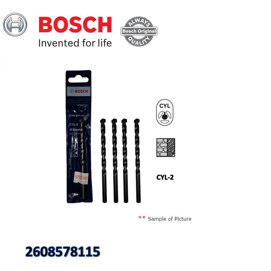 D 20719 5pcs Makita Masonry Bit Shopee Malaysia Bosch 8 Pcs 3 10mm Cyl 4 Mata Bor Multi Purpose Set
