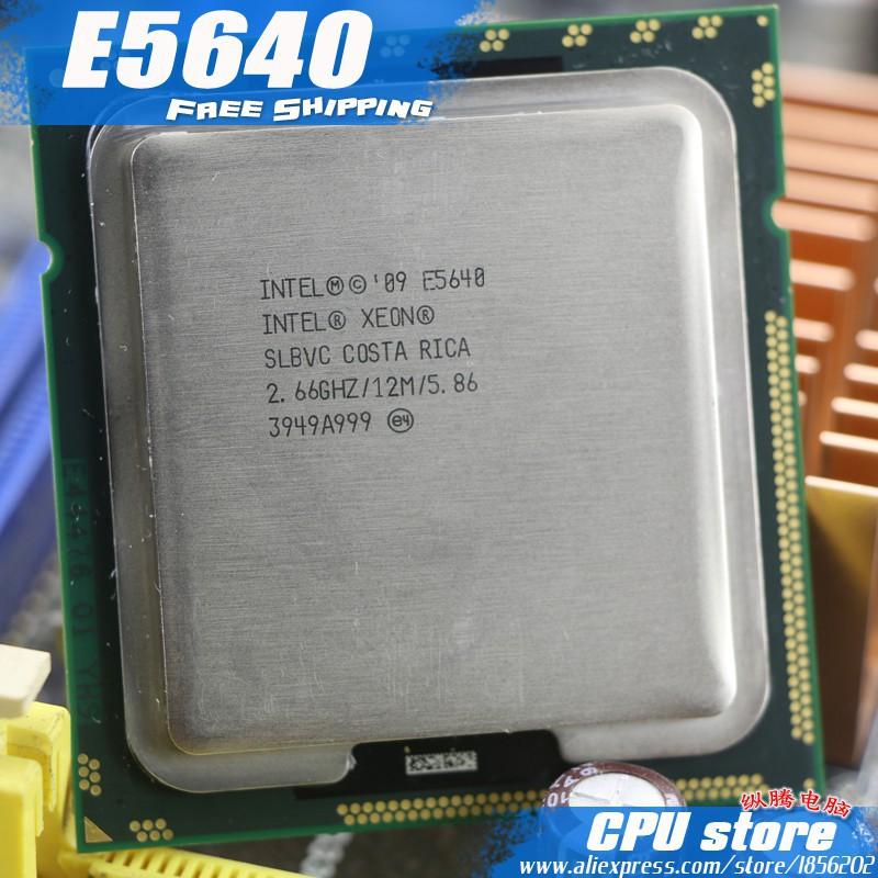 LOT OF 24 Intel Xeon E5640 SLBVC 2.66GHz 4 Core LGA 1366 server CPU Processor