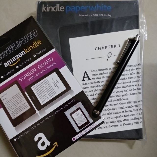[CLEAR stock] Kindle paperwhite 3 e reader ( ready stock )