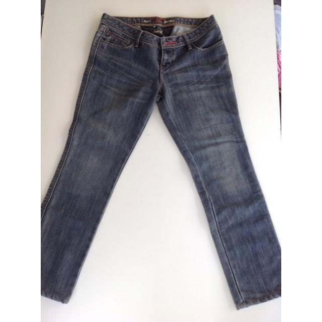 กางเกงยีนส์แบรนดัง สำหรับผู้หญิงมือ2 ส