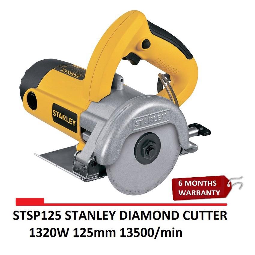 Stanley STSP125 125mm marble cutter tile, wood, granite 1320W