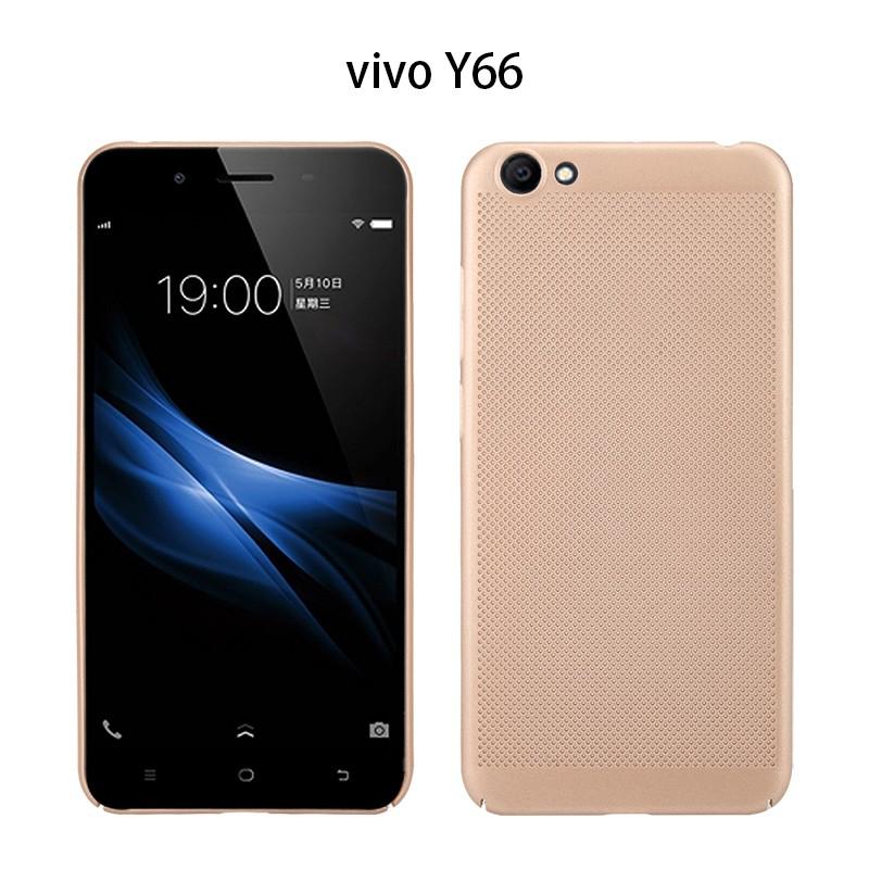 For VIVO Y66/V5 Lite Phone Case UltraThin Breathable Mesh PC Cove