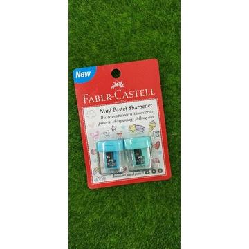 Faber-Castell Mini Pastel Sharpener 2's 584601 1 CARD