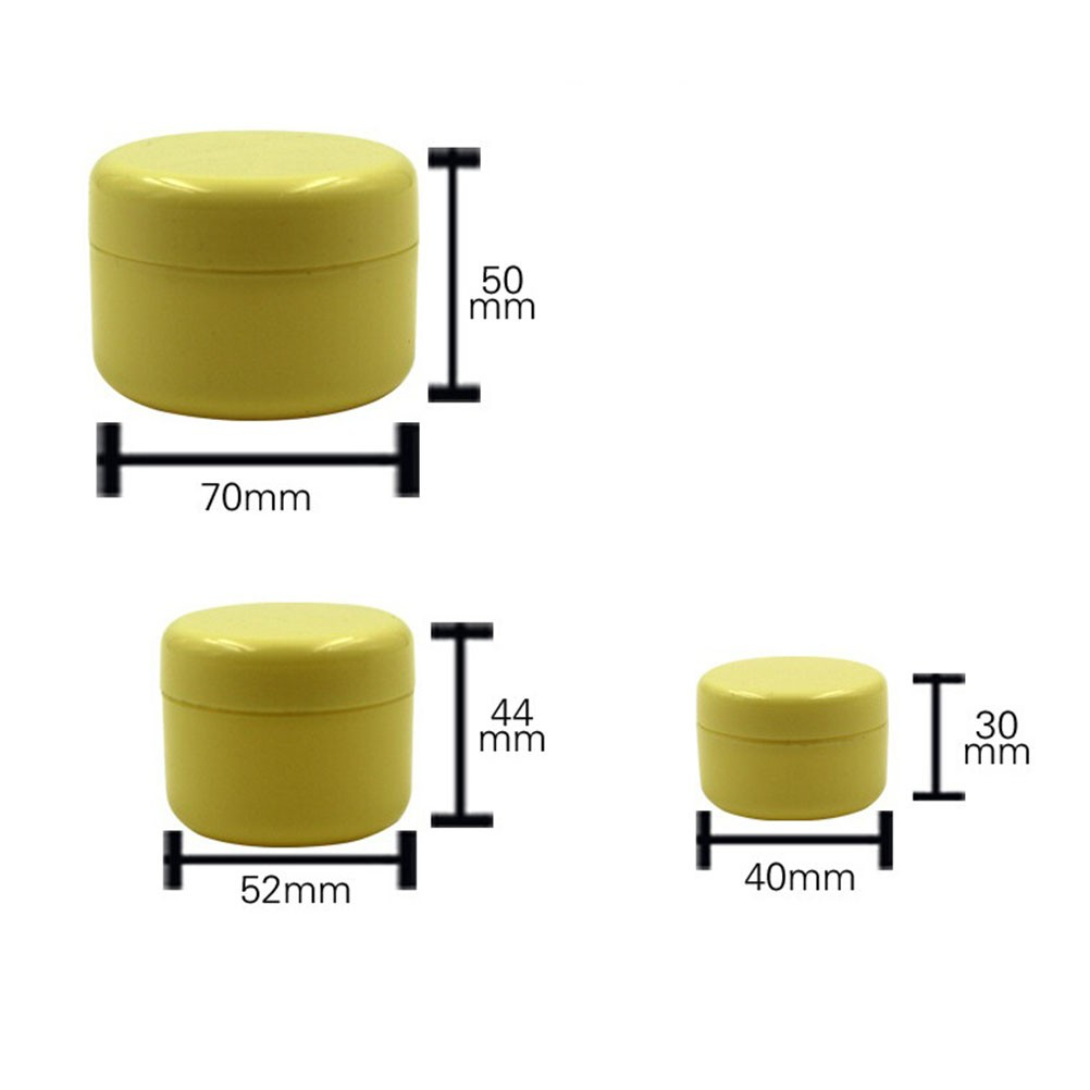 50pcs 10g Empty Cosmetic Jar Pot Eyeshadow Face Cream Container Box Frosted 10gr White Shopee Malaysia