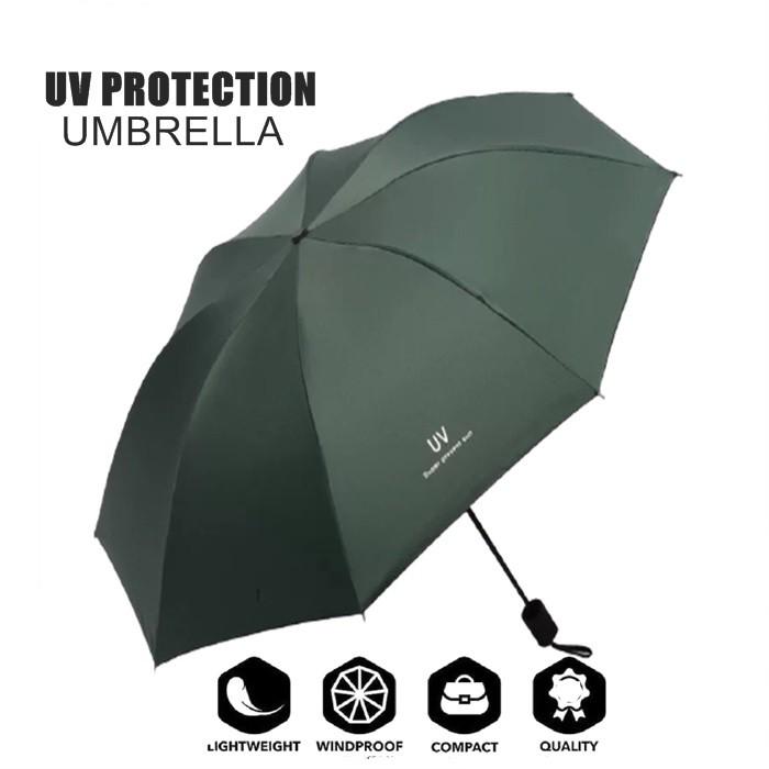 MALAYSIA: PAYUNG LIPAT ELAK UV Foldable Umbrella  Windproof Vented Umbrella 50+UV Windproof