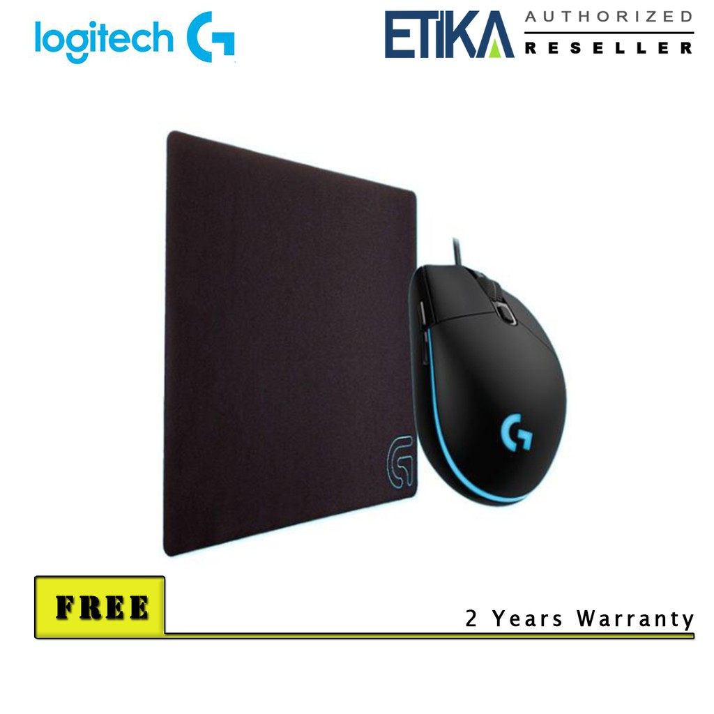 637d1737ca3 Logitech G103 Prodigy Gaming Mouse + G240 Cloth Gaming Mouse Pad Bundle Set  | Shopee Malaysia