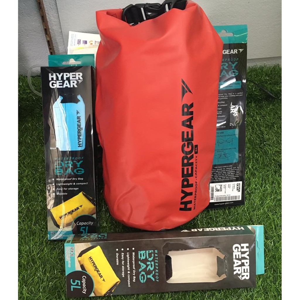 c5a42a00ed7 100% ORIGINAL Hypergear Adventure Dry Bag Water Resistant 10 Liter ...