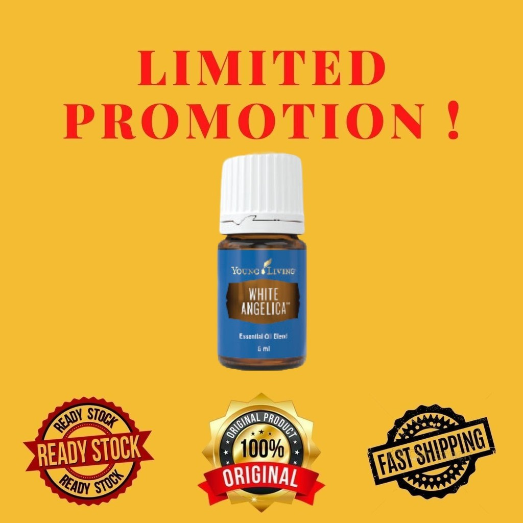 Young Living White Angelica Essential Oil Blend 5ml Ready Stock Shopee Malaysia