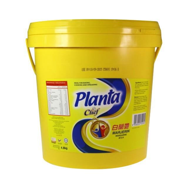 Planta Brand Margarine 4.8KG 白兰她牌牛油