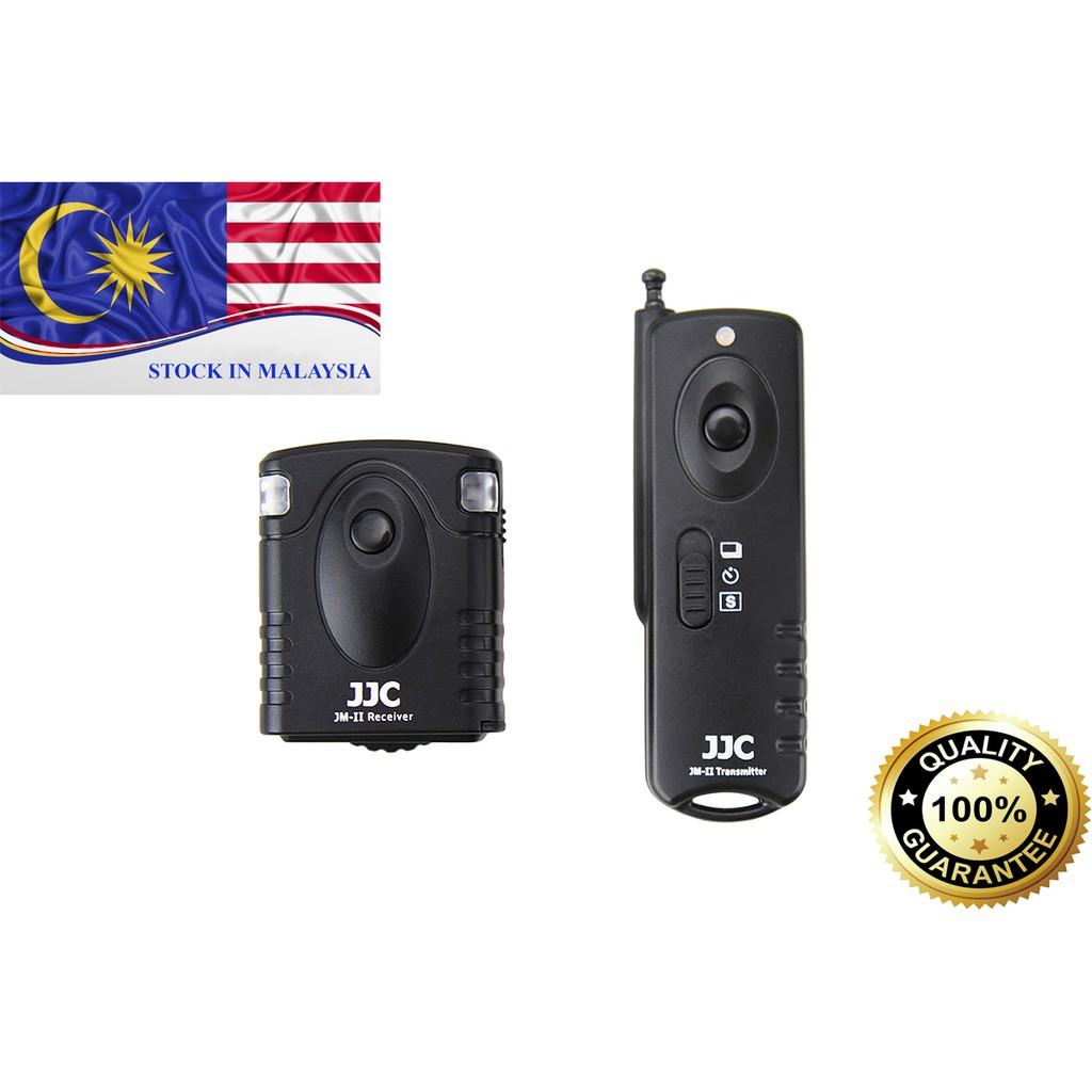 JJC JM-II Radio Frequency Wireless Remote for Canon/Pentax (Ready Stock In Malaysia)