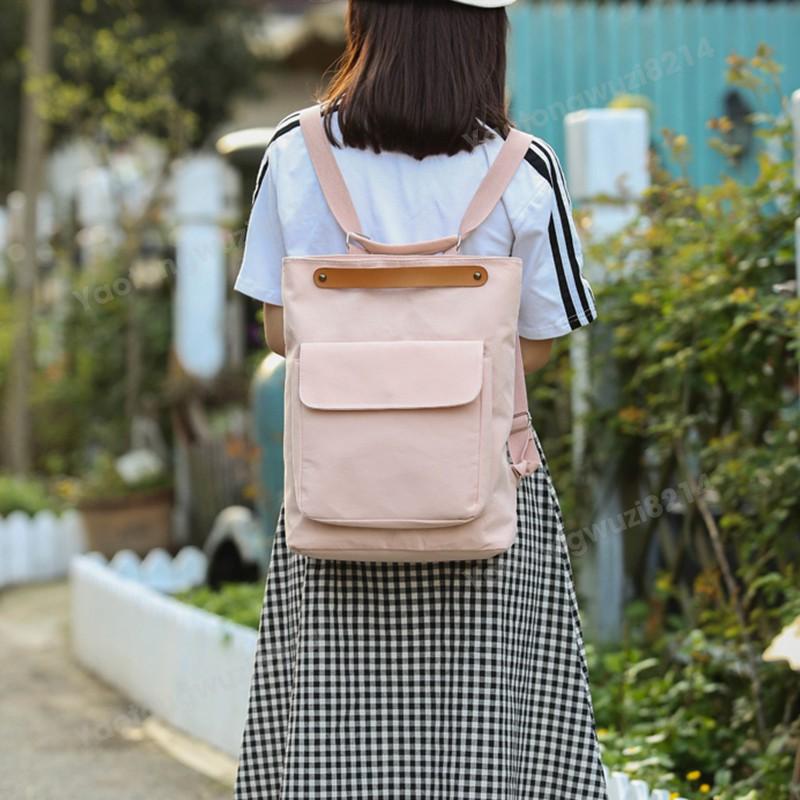 eom 3 สีกระเป๋าเป้สะพายหลังญี่ปุ่นเสนกรมของสาวแฟนกระเป๋านัก
