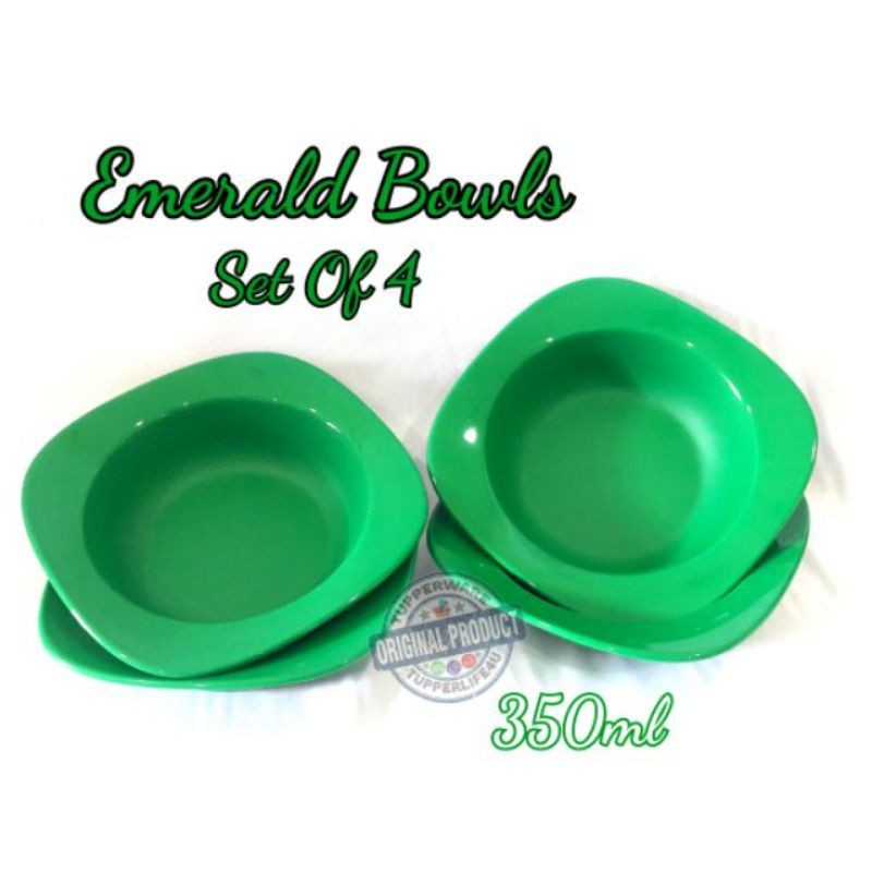 [LIMITED] [BOWL ONLY] TUPPERWARE EMERALD