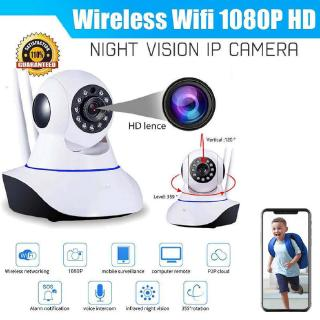 Home CCTV Wi-Fi Motion Tracking Night Vision IP Camera YCC365 Plus