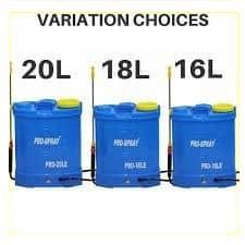 Portable Rechargeable Battery Knapsack Chemical Sprayer 16L 18L 20L Pam Racun