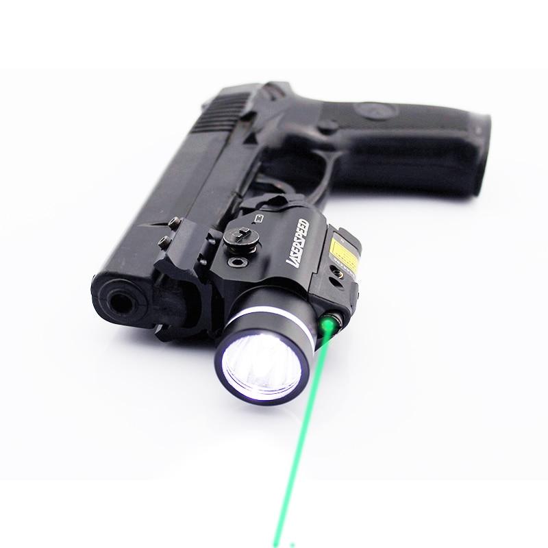 Ls Cl2 Pistol Mini Light Gun Led Tactical Weapon Light Airsoft Military Hunting Flashlight Glock Pistol Gun Laser Scope Shopee Malaysia