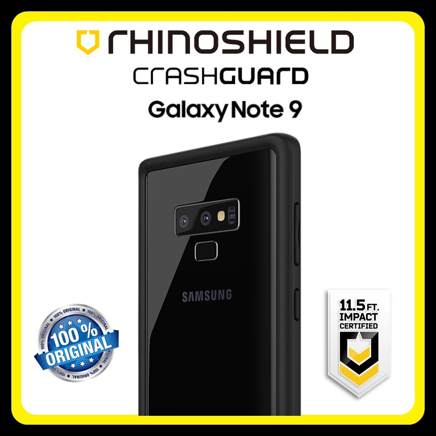 new style 8c961 68448 RhinoShield CrashGuard Bumper Case Samsung Galaxy Note 9 Note9