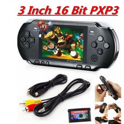c2506871fc3 PXP3 16-bit handheld game console Orange