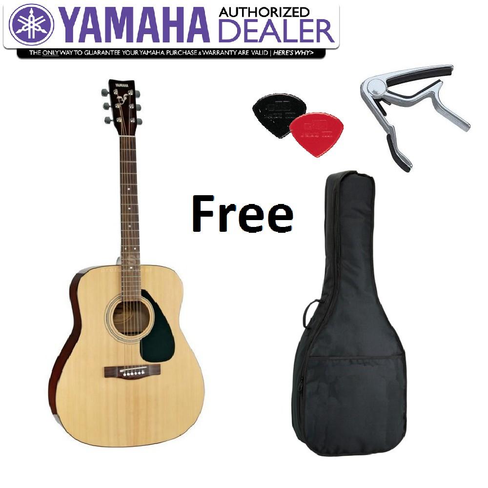 Yamaha F310 Acoustic Guitar Free Guitar Bag, Capo & Picks (F 310 / F-310)