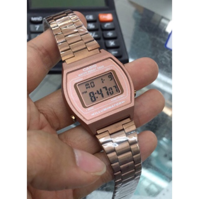 Casio Rosegold Jam Tangan Rose Gold with Watch Box  bd76e7aedf