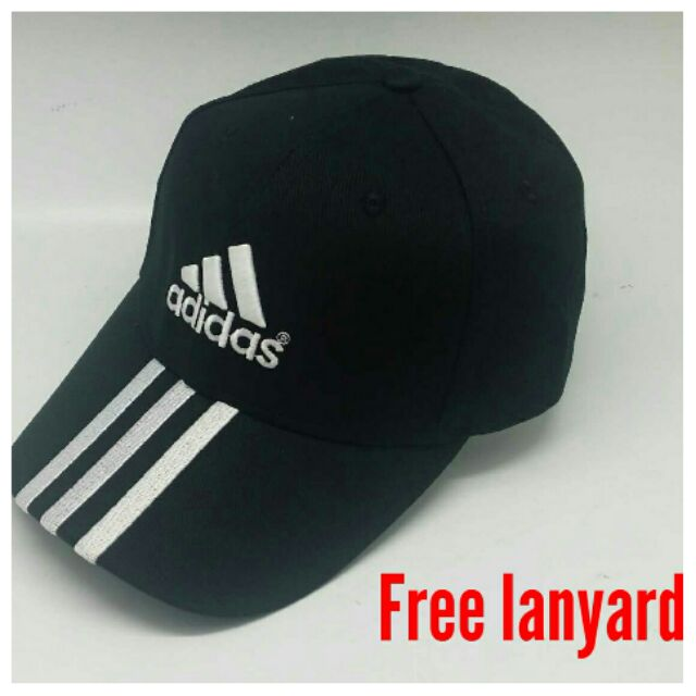 Adidas cap ( free adidas lanyard )