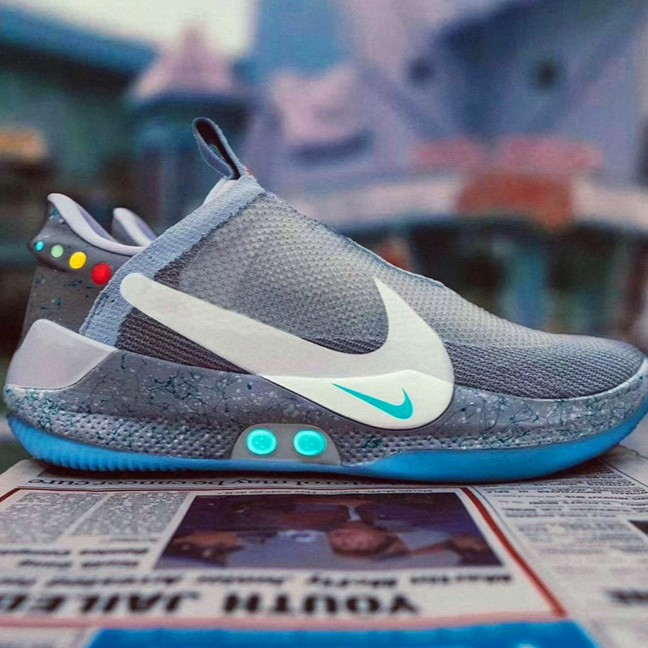 Ready Stock New Arriving Nike Adapt Bb Mag Running Shoes Jogging Sneakers Shopee Malaysia