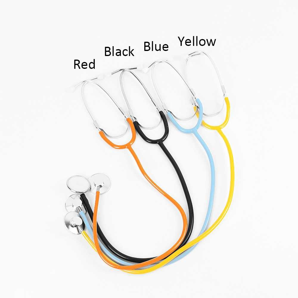Medical Household Stethoscope for Doctor Nurse Vet Student Chest Piece Medical Devices