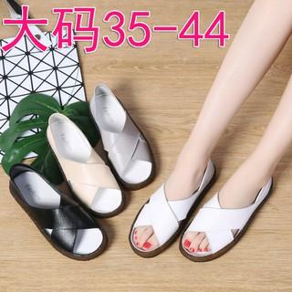 Ready Stock Women Shoes Sandals Female Women Shoes Solid Color