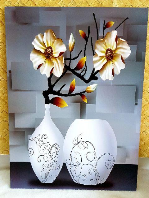 🎀🏡 Wooden Frame Paint Art / Frame Gambar Kayu Hiasan Dinding 40cm x 55cm x 1cm (1pcs) 🏡🎀